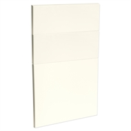 Kaboodle 450mm Antique White Modern 3 Drawer Panels