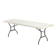 Lifetime 2440 x 762 x 737mm Folding Trestle Table