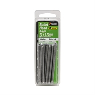 Paslode 75 x 3.75mm 100g Bright Steel Bullet Head Nails - 14 Pack