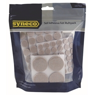 Syneco Felt Assorted Sizes - 188 Pack