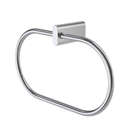 Caroma Track Chrome Towel Ring