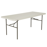 Lifetime 6ft Standard Blow Mould Trestle Table