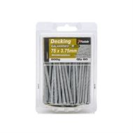 Paslode 75 x 3.75mm 500g Griplock Galvanised Nails - 60 Pack