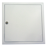 Kimberley 200 x 200mm Softline Metal Access Panel With Cylinder Lock