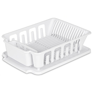 Sterilite White Large Dish Drainer And Drainboard