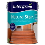 Intergrain 10L Jarrah / Redgum NaturalStain Water Based Exterior Stain