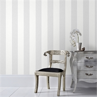 Superfresco Easy 52cm x 10m Calico Stripe Grey Wallpaper