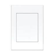 HPM VIVO Blank Coverplate - White