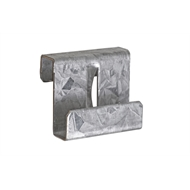 James Hardie PrimeLine Galvanised Universal Off Stud Joint Clip - Pack 100