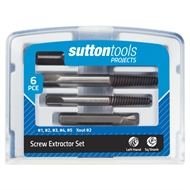 Sutton Tools Projects 6 Piece Screw Extractor Set