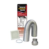 Deflecto 125-150mm Rangehood Eave Venting Kit