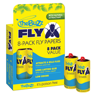 The Buzz Fly Papers Insect Trap - 8 Pack