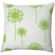 Mimosa 45 x 45cm Green Flower Outdoor Cushion