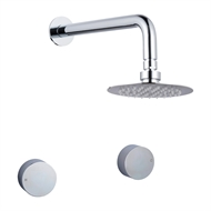 Mondella Resonance WELS 3 Star 9L/min Chrome Shower Set