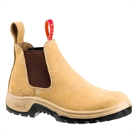 Rossi Wheat Suede 787 Site Safety Boot  - Size 9
