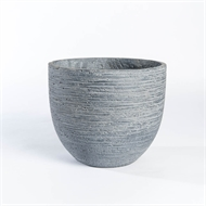 Tuscan Path 30 x 25cm Grey Stream Lite Lightweight Egg Pot
