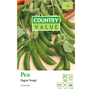 Country Value Snap Sugar Peas Vegetable Seeds