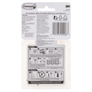 Command 1.8kg Small Picture Hanging Strip - 8 Pack