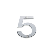 Sandleford 60mm 5 Stainless Steel Numeral