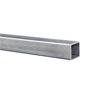 Metal Mate 20 x 20 x 1.6mm 1m Galvanised Steel Square Tube