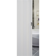 Pillar Products 82 x 240cm White PVC Havana Concertina Door