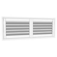 EasyAS 1510 x 600mm Adjustable Shutter