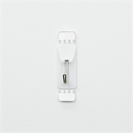 Permastik Medium White Kitchen Hooks - 4 Pack