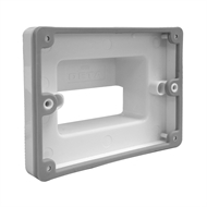 DETA Flush Mount Bracket for Weatherproof Double Power Point