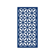 Protector Aluminium 600 x 900mm ACP Profile 12 Decorative Panel Unframed - Dark Blue