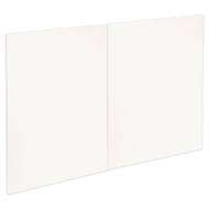 Kaboodle 900mm Sour Cream Modern Rangehood Doors - 2 Pack