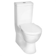 Caroma WELS 4 Star Opal II Wall Faced Close Coupled Toilet Suite