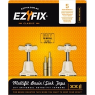 Basin/sink Set Ezyfix Ivory 2815-04