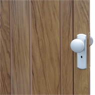 Pillar Products 85 x 203cm Walnut Alpine PVC Concertina Door