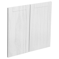 Kaboodle 600mm Provincial White Country Rangehood Cabinet Door - 2 Pack