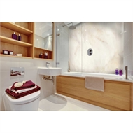 Bellessi 1220 x 3050 x 4mm Motiv Polymer Bathroom Panel - Sandy Desert