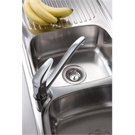 Oliveri LakeLand Single Bowl Inset Sink With Drainer