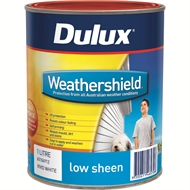 Dulux Weathershield 1L Low Sheen Ultra Deep Exterior Paint