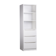 Multistore 1650 x 500 x 450mm White Storage Unit