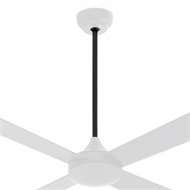 Arlec 900mm Matte Black Ceiling Fan Accessory Rod