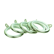 Windoware 25mm Nickel Curtain Rod Rings - 5 Pack