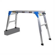 Gorilla 120kg Adjustable Height Work Platform With Connecting Brackets