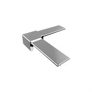 Architects Choice Mirror Polish Stainless Steel Friction Fit Handrail Joiner 90 Deg
