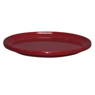 Northcote Pottery Cherry 'Glazed Look' Round Saucer - 350mm