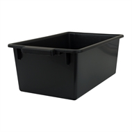 Handy Storage 54L Black Storage Crate