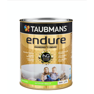 Taubmans Endure 1L White Semi Gloss Interior Wall Paint
