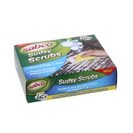 Sabco Sudsy Multi Purpose Scrubs - 12 Pack