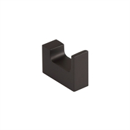 Mondella Matte Black Rumba Robe Hook