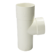 Icon 80mm Round PVC 95deg Junction Downpipe