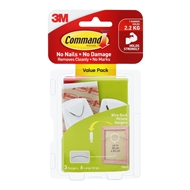 Command 2.2kg Wire-Backed Picture Hanger - 3 Pack