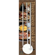 Amalfi 3 Piece Pizza Oven Tool Kit